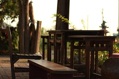 Quiet place - Tainan (Chapo78) Tags: taiwan tainan quiet nature peaceful tranquility rest chair table