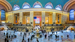 NY Manhattan V (stega60) Tags: grandcentralterminal grandcentralstation newyork manhattan station train stiched panorama hdr people rushing stega60