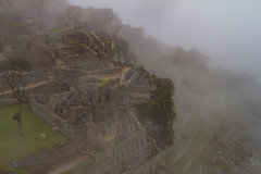 Machu Picchu Emerging from the Morning Mist (donnatopham) Tags: machupichu