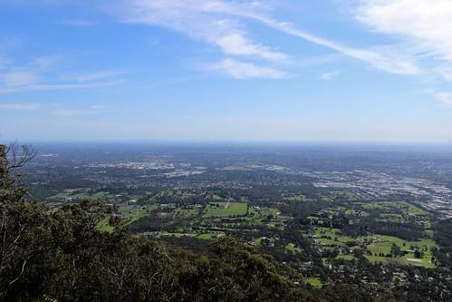 View of Melbourne, Mount Dandenong