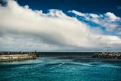 Bare Minimum (252/365) (iratebadger) Tags: nikon nikond7100 sea seaside coast eastcoast blue sky clouds project365 iratebadger yorkshire england