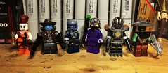 Prequel Hunters (Lord Allo) Tags: lego star wars prequels clone attack clones aurra sing cad bane jango fett zam wesell durge embo bounty hunter hunters