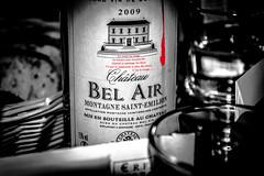 rouge-de-larme-Modifier3.jpg (Djeremix) Tags: citation rouge vin wine bouteille chateau
