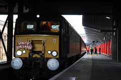57315 5Z15 (Liam Blundell Photography) Tags: wcrc west coast rail tours company crewe railway station 5z15 1z16 1z14 liverpool lime street skegness class 57 57315 47 47760 spoon spirit of the lakes train diesel old br mk3 coaches