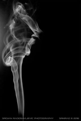 Smoke art: Ghost warrior (srkirad) Tags: blackandwhite blackwhite bw abstract smoke indoor art smokeart black white background monochrome silhouette warrior ghost