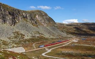 Regiontog to Bergen