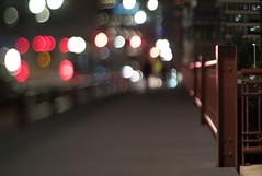 W. Jackson Blvd. bridge (Jovan Jimenez) Tags: sony a6500 tilt shift nikon series e 50mm f18 6500 ilce jackson blvd bridge night optical bokeh tiltshift chicago manual lens vintage miniature mirrorless