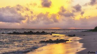 Fabulous Maldives sunset