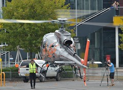 F-HESB (7) @ Helitech 17 ExCel London 01-10-17 (AJBC_1) Tags: newham londonboroughofnewham royaldocks londonsroyaldocks eastlondon london england unitedkingdom uk excelexhibitioncentre excel londonexcelcentre docklands dlrblog ©ajc helicopter nikond3200 h125 helitech17 helitech2017 customhouse ajbc1 fhesb airbushelicopters as350b3 aérospatialeas350b3ecureuil chamonixmontblanchelicoptèrescmbh
