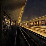 Los Angeles  California  ~ Train passenger canopy ~ thumbnail