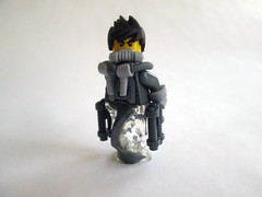 The Grey Ghost (FANTXTIK CONTEST ENTRY) (slight.of.brick) Tags: lego grey ghost minifig contest entry superhero