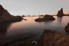 Arrecife de las Sirenas (jlmm_morales) Tags: sea cielo heaven rocas rocks arrecife reef vacaciones holidays verano summer dawn amanecer almeria andalucia spain españa