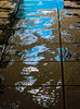Wet Pavement (stephenbryan825) Tags: liverpool multicoloured rain reflection selects wetpavement