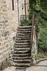 Steps to the Cathedral (RichardTowers43) Tags: najac lot lotregion midipyrenees france steps stonestaircase eglisesaintjeandenajac