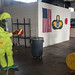 U.S. Airmen conduct HAZMAT training aboard Kadena Air Base
