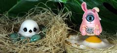 Broody (bentwhisker) Tags: sakurapaperstudio xiaojiu bird birdie fingertipdreamland bunnymaru bunny rabbit cyclops anthro apocalypse 8656