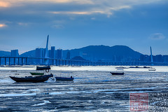 IMG_2614 (Edward Ha) Tags: 佳能 香港 canon hongkong 新界 newterritories 元郎 yuenlong 流浮山 laufaushan 日落 sunset outdoor landscape