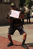 Batman fan holds protest sign (Dan Skorupka) Tags: protest protestsign batman beatles allyouneedislove bostoncommon
