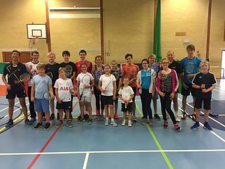 Badminton Summer Camp 2017
