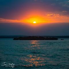 Chale Island sunset