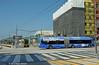 LOS ANGELES--1016 (at station), SM 5320 at Downtown Santa Monica Station (milantram) Tags: electricrailtransport railsystemslosangeles losangeles lacmta santamonica bigbluebus buses streetcars trolleys trams lightrail