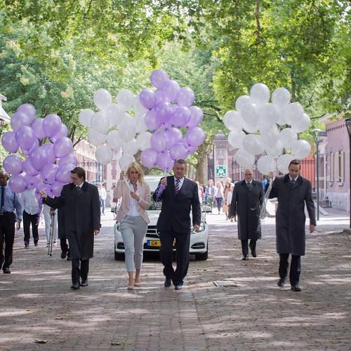 Heliumballonnen Begraafplaats Crooswijk Rotterdam