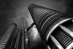 Holding Up The Sky (TS446Photo) Tags: architecture travel nikkor zeiss mono monochrome storm asia tower ybs2017