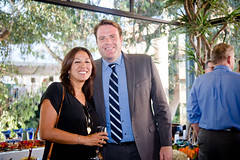 Patrick Bouteller (Office of Mayor Kevin Falconer), Meena Westward (Metropolitan Water District of Southern California)