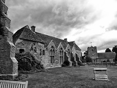 27vii2017 Stokesay 24 (garethedwards36) Tags: stokesay castle shropshire uk lumix sky storm weather building architecture monochrome blackandwhite