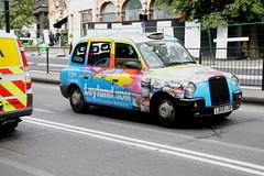 Lti TX4 in Leyland SDM colours (Ian Press Photography) Tags: lti tx4 leyland sdm colours london cab cabs taxi taxis international