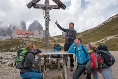 Bergpredigt reloaded (Jürg) Tags: dolomiten dolomiti dreizinnen berg mountain predigt sermon