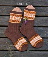 2017-08-04 Kanteletar (4) (hepsi2) Tags: tds2017 tds2017kanteletar kanteletar socks sukat colorwork strandedknitting