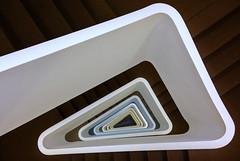 Triangle (Elbmaedchen) Tags: staircase treppenhaus stairs triangle modern architektur architecture bürogebäude office steckelhörn hamburg
