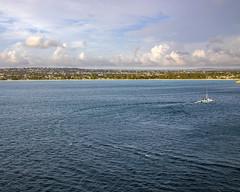The Turn (bakerlit) Tags: bridgetown barbados bb caribbean water island ocean boat landscape