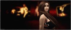 Portrait of Miss Yoon (Akim Alonzo) Tags: portrait secondlife backstage itakos art gallery lea16 red velvet yoon
