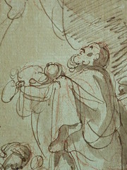 SUVÉE Joseph Benoît - La Présentation de Jésus au Temple (drawing, dessin, disegno-Louvre INV34397) - Detail 11 (L'art au présent) Tags: art painter peintre details détail détails detalles drawings dessins 17thcenturydrawings dessinsfrançais frenchdrawings peintresfrançais frenchpainters museum paris france bible adoration worship saint bless sacred holy blessed figure personnes people femme femmes woman man men virgin vierge enfant child enfance kid baby bébé childhood parents family famille croquis étude study sketch sketches dessins18e 18thcenturydrawings