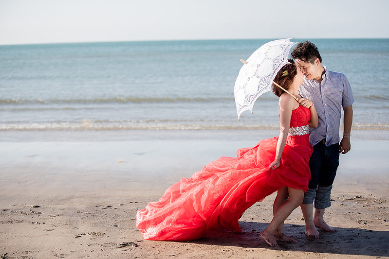 淡水老街,滬尾砲台,婚紗攝影,新娘造型,禮服出租