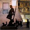 Bologna, Vita Notturna (pom.angers) Tags: 5000 panasonicdmctz3 300 march 2010 europeanunion bologna emiliaromagna italia italy shadow statue sculpture nettuno night
