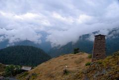 Keselo fort in Zemo Omalo (Jelger Groeneveld) Tags: georgia tusheti omalo kakheti dartlo roadtrip caucasus