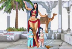 Florzinha #0329 (Jasmini Rugani) Tags: {confettiposes} enchantmentevent gacha rare vivakids secondlife sl toddleedoo kids cute bento