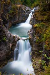 Little Qalicum Falls (MH Photography Austria) Tags: canon canon70d canonaustria captures canada wasser water wasserfall waterfall nationalpark littlequalicumfalls vancouverisland nature longexposure ultralongexposure haidafilter