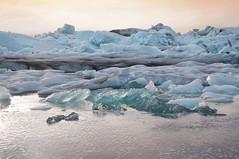 Take me here again (giulia_vignati) Tags: iceland ice nikon sunset jökulsárlón nature landscape glacier lagoon