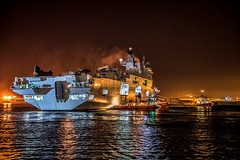 HMS Ocean departs Gibraltar en-route to help on Caribbean relie efforts #OpRuman (David Parody) Tags: