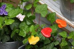 Hearts & butterflies (petrOlly) Tags: europe europa germany deutschland toepfermarkt pottery rheydt schlossrheydt schloss moenchengladbach handmade object objects decoration