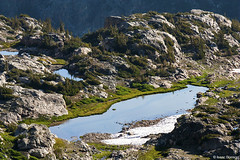 Alpine Bench (isaac.borrego) Tags: uploadedviaflickrqcom mountain peak alpine alaskabasin hurricanepass grandteton nationalpark wyoming canonrebelt4i jacksonhole mountains unitedstates america