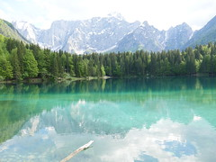 Lago de Fusine, Julian alps