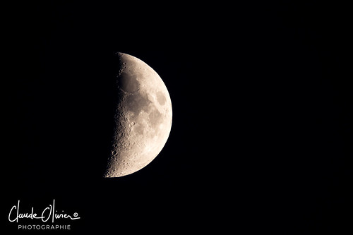 The moon at 1000mm