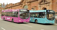 FJ09BXL 731 FJ09BXN 733 Trent Barton (martin 65) Tags: wrightbus road transport trent travel wellgrade public nottingham nottinghamshire bus buses barton