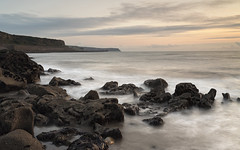 Parton (Peter Henry Photography) Tags: water sea shore parton rocks beach sunset coast tide waves loneexposure whitehaven cumbria