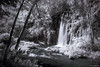 Spearfish Falls (the real digibot) Tags: ir infrared filter longexposure d750 blackhills southdakota june 2017 water mountains summer blackandwhite sortof southdakote falls river stream creen spearfishcreek canyon western west nikonflickraward